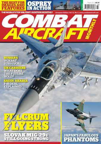 Combat Aircraft issue European Edition - Vol 13 No 3