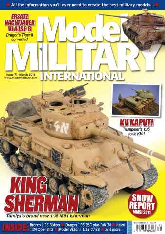 Model Military International issue 71