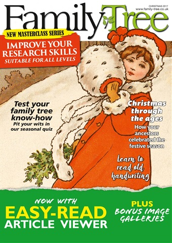 Family Tree issue Family Tree Christmas 2017
