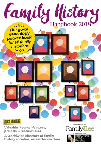 Family Tree issue Family History Handbook 2018