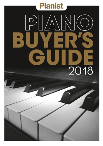 Pianist issue Piano Buyer's Guide 2018