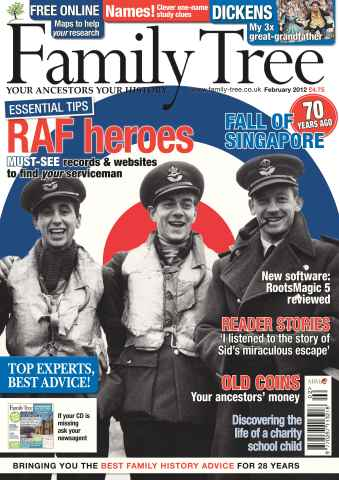 Family Tree issue February 2012