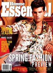 Essential Homme issue January-February 2012