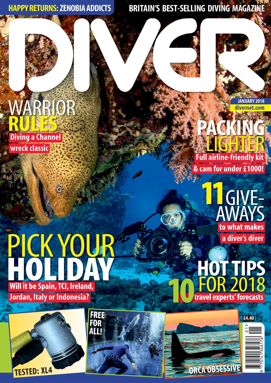 DIVER JANUARY 2018