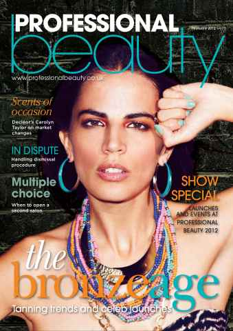 Professional Beauty issue Professional Beauty February 2012