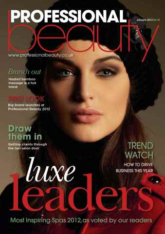 Professional Beauty issue Professional Beauty January 2012