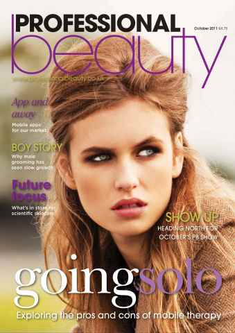 Professional Beauty issue Professional Beauty October 2011