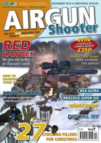 Airgun Shooter issue December 2010