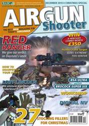 Airgun Shooter issue December 2010