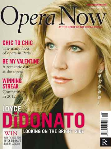 Opera Now issue February 2012