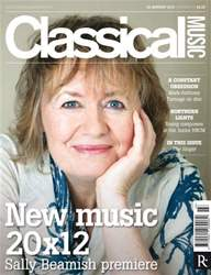 Classical Music issue Classical Music 28 January 2012