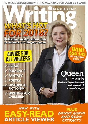 Writing Magazine issue February 2018