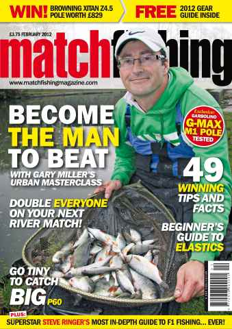 Match Fishing issue February 2012