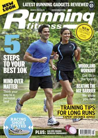 Running Fitness issue Your Fastest 10k March 2012