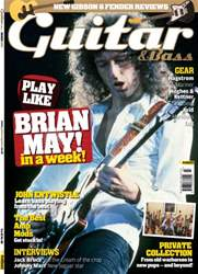 Guitar & Bass Magazine issue March 2012 Brian May