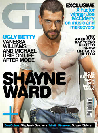 Gay Times issue Dec 2010