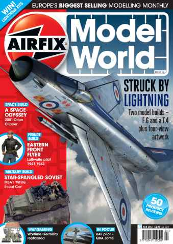 Airfix Model World issue March 2012