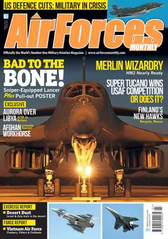 AirForces Monthly issue March 2012
