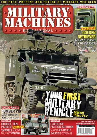Military Machines International issue March 2012