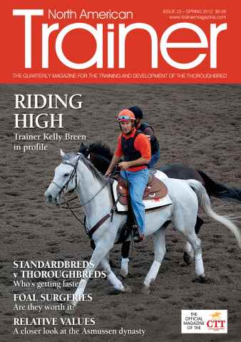 North American Trainer Magazine - horse racing issue Issue 23 - Spring 2012