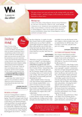 Writing Magazine Preview 8