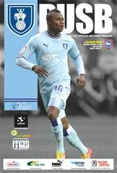 CCFC Official Programmes issue 17 v IPSWICH (11-12)