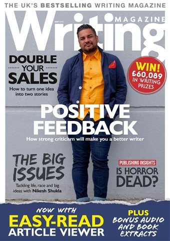 Writing Magazine issue May 2018