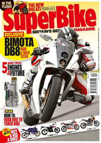 Superbike Magazine issue April 2012