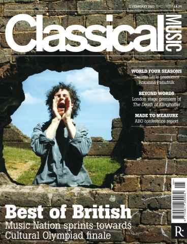 Classical Music issue Classical Music 11 February 2012