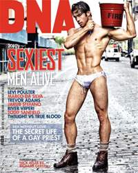 DNA Magazine issue DNA #128 - Sexiest Men Alive