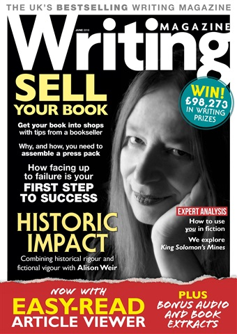 Writing Magazine issue June 2018