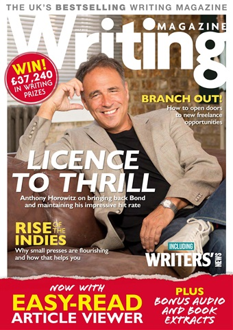 Writing Magazine issue July 2018