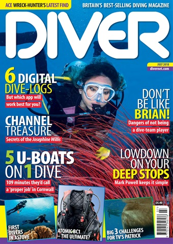 DIVER issue JULY 2018