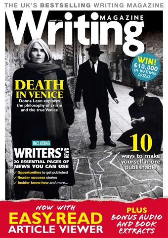 Writing Magazine issue August 2018