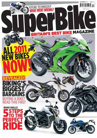 Superbike Magazine issue December 2010