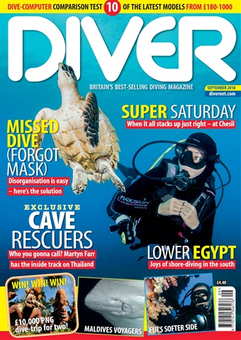 DIVER issue SEPTEMBER 2018