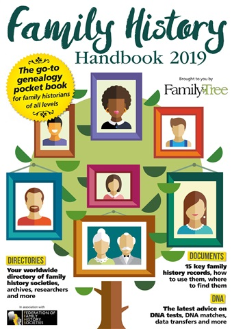 Family Tree issue Family History Handbook 2019