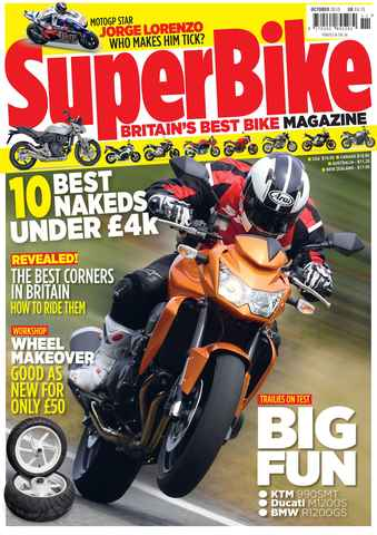 Superbike Magazine issue October 2010