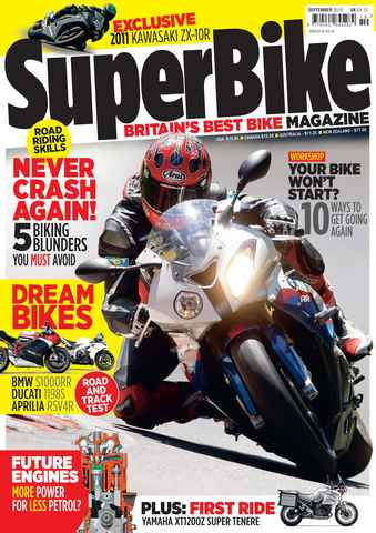Superbike Magazine issue September 2010