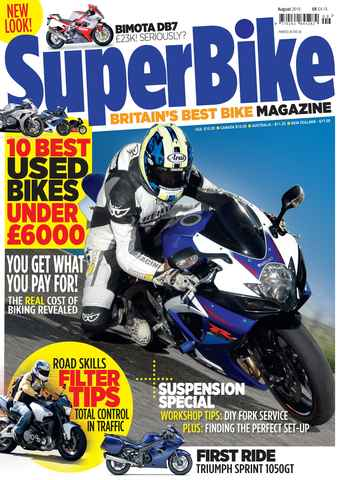 Superbike Magazine issue August 2010