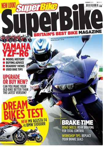 Superbike Magazine issue Summer 2010