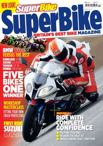 Superbike Magazine issue July 2010