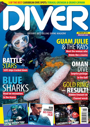 DIVER issue FEBRUARY 2019