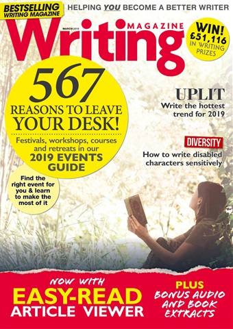 Writing Magazine issue March 2019
