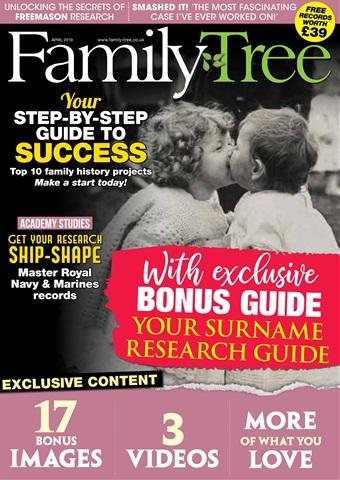 Family Tree issue Family Tree April 2019