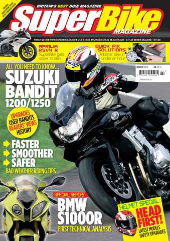 Superbike Magazine issue March 2010