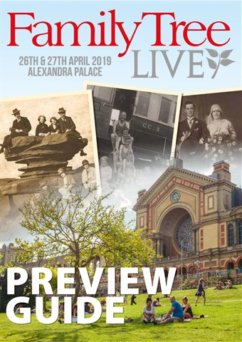 Family Tree issue Family Tree Live 2019 preview guide