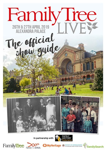 Family Tree issue Family Tree Live Show Guide 19