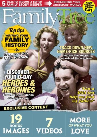 Family Tree issue Family Tree June 2019