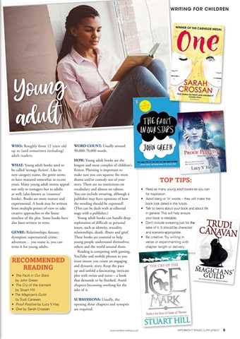Writing Magazine Preview 9